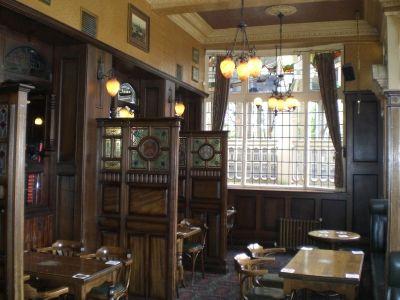 The Eagle and Child Pub, Oxford.
