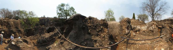 Panorama of Swartkrans, one of the richest fossil sites in the Cradle of Humankind, South Africa.