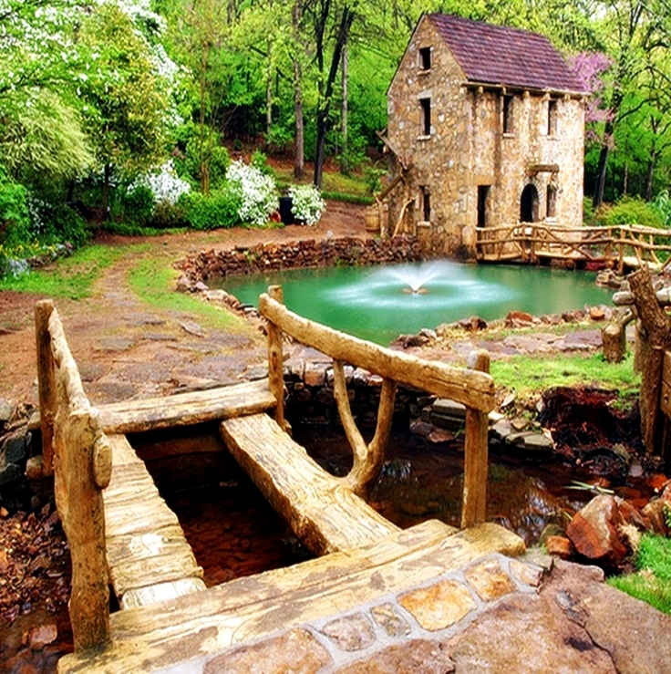 Pughs Old Mill, Little Rock - Arkansas