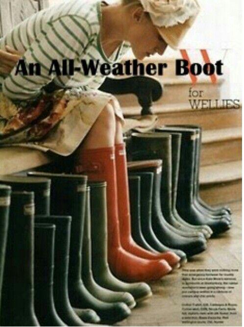 Gummy boots