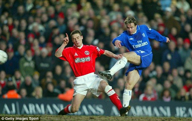 Graeme Le Saux (pictured scoring against Charlton in 2002).