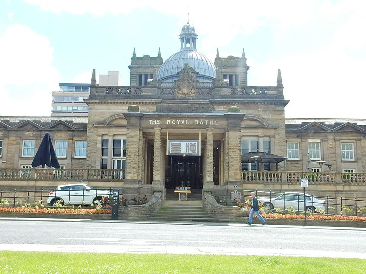 Harrogate Spa Baths ,. now a restaurant.