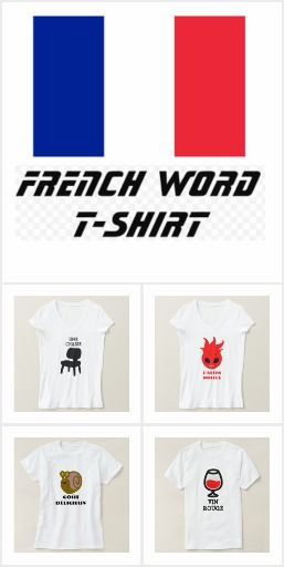 French Word T-Shirt