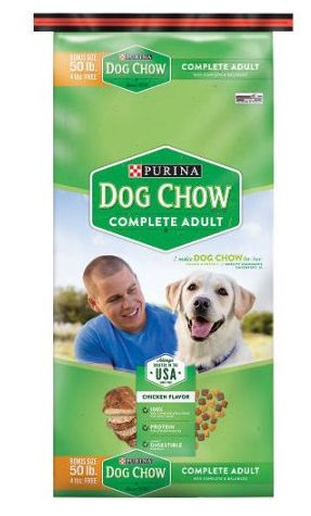 Purina Coupon: Score $5 Off Purina 50lb Dry Dog Chow Score $5 off any one bag of Purina dog chow with our Purina coupon. Its always good to save on your do
