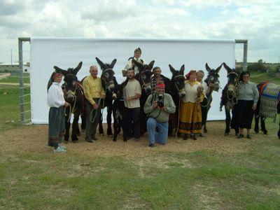 """Festival Imaginarius - Exposição de Oliviero Toscani. """"Toscani retrocede no tempo: o fotógrafo veio a Portugal em trabalho para a revista de moda americana , altura em que constata a existência de burros numa terra perto de Lisboa, da qual não se recorda o nome. """"Disse de imediato: """"Era muito mais interessante fotografar burros que modelos"""". Todos se riram desta minha ideia"""", lembra..."""" Courtesy: AEPGA - Associação para o Estudo e Protecção do Gado Asinino, Atenor  (Portugal)."""