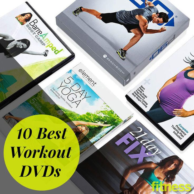 The best at-home workout DVDs in stores now. Whether you want to burn fat, build muscle, or beat stress, we've found the perfect workout DVD for you.