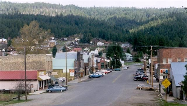 "Roslyn, Washington--Where they shot Northern Exposure and hold the annual ""Moosefest"". It was made for me I think."