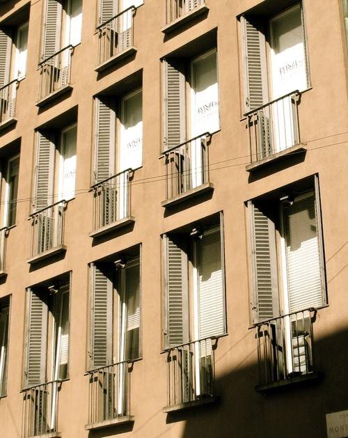 Casa corso Monforte, Milano, 1964, Luigi Caccia Dominioni