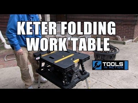 This Took My Money – Keter Folding Compact Workbench Work Table