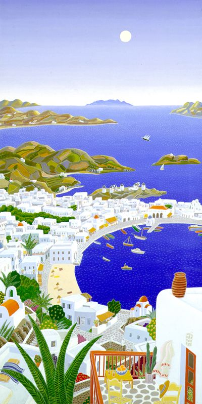 Mykonos Horizons by Thomas McKnight