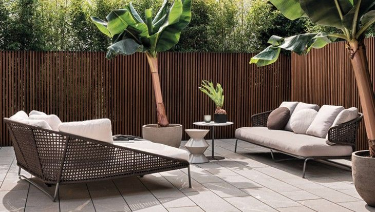 Modern furniture - Design magazine - Minotti: a Stylish Outdoor - Modern furniture shop online