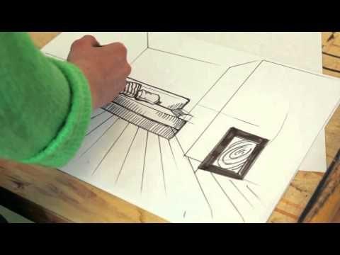 Рисуем скетч с Международной Школой Дизайна - YouTube
