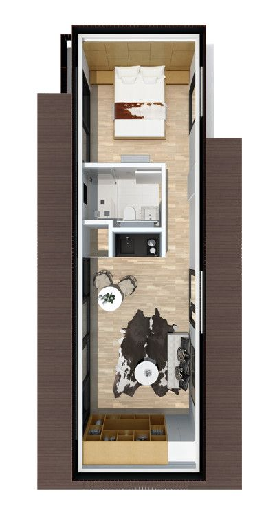 Cocoon Cabin Plan Cocoon9 Small Space Appartment Pinterest