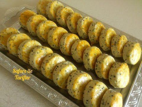 Çörek Otlu Kolay Kurabiye Tarifi - Ağızda Dağılan Tuzlu Kurabiye Nasıl Yapılır - Kurabiye Tarifleri - YouTube