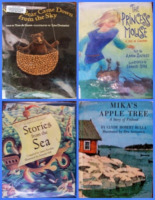 Crafty Moms Share: A Day in Finland--Around the World in 12 Dishes - lots of great books for studying Finland