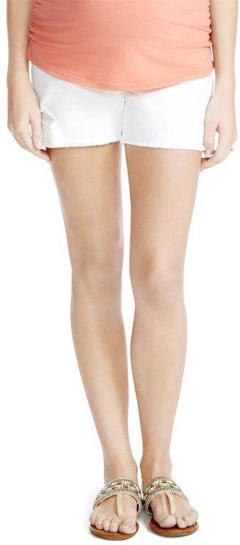 Jessica Simpson Secret Fit Belly 5 Pocket Maternity Shorts