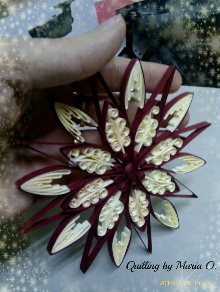 Something like this for DIY flowers?? Beautiful work by Maria