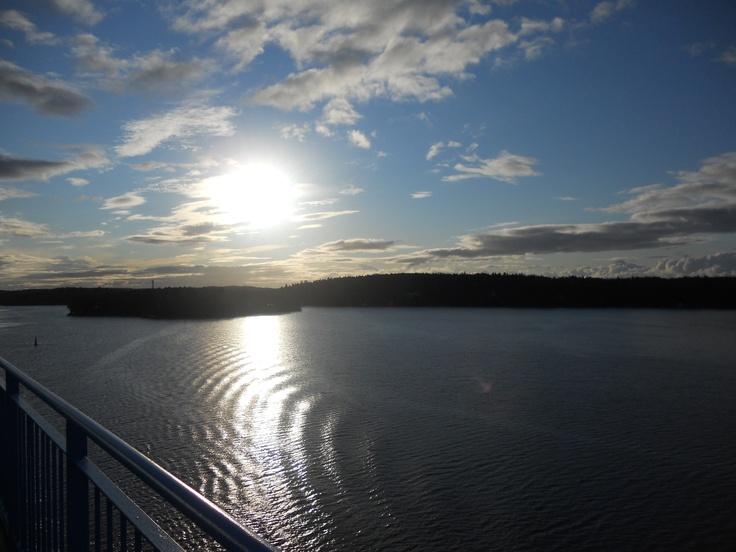 Åland Islands, view from Silja Line
