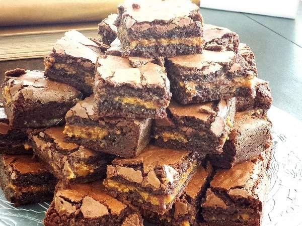 Brownie com doce de leite | Tortas e Bolos | Além do Horizonte | Receitas.com