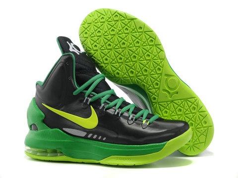 Nike Zoom KD 5 Black Green Volt ShoesThe Nike Zoom KD V features a