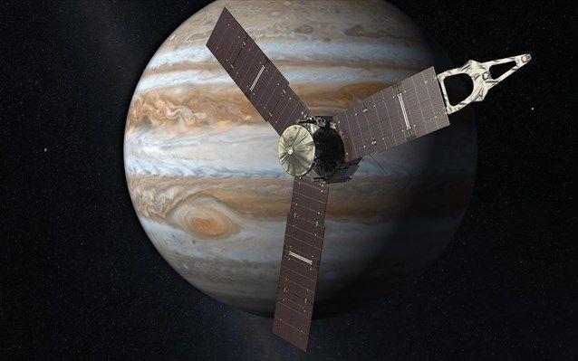 Άφιξη του διαστημοπλοίου Juno στον Δία μέσα σε λιγότερο από έναν μήνα   naftemporiki.gr