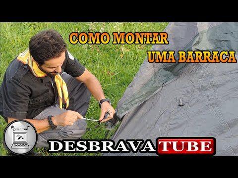 COMO MONTAR UMA BARRACA #desbravadores #desbravador #classe #especialidade - YouTube