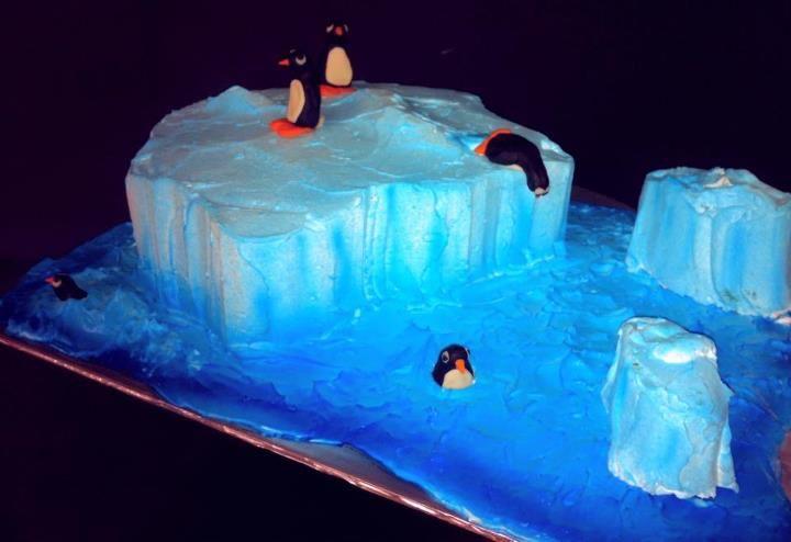 Penguin Iceberg Cake By Iris Candelaria Ciara S 8th