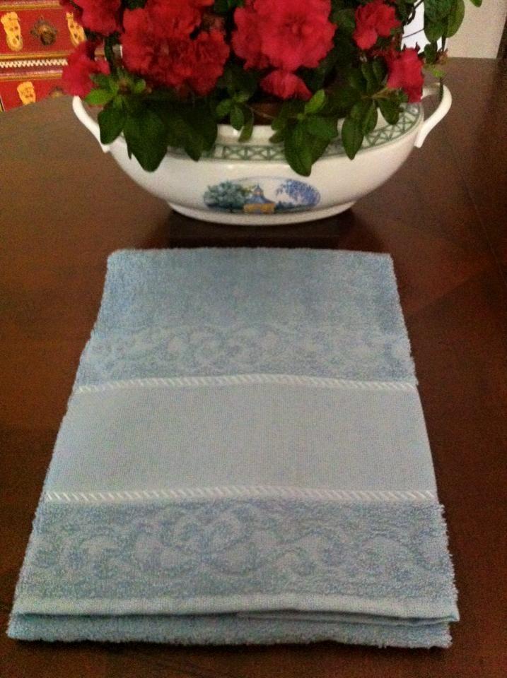 coppie di spugna con tela aida a 6,00€ in azzurro cenere