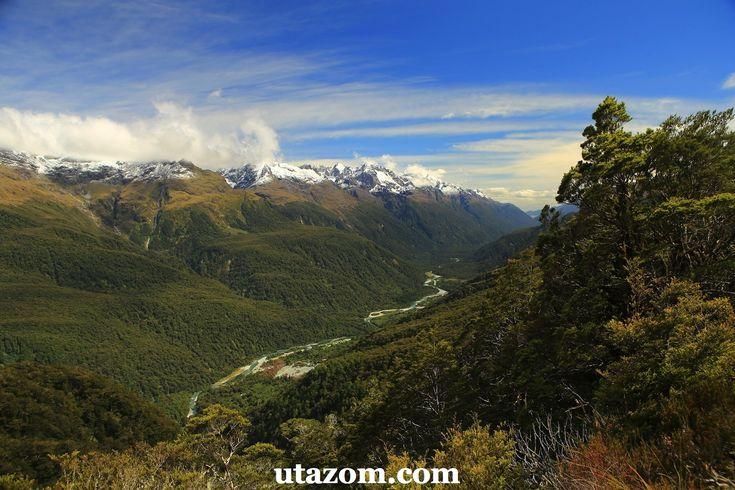 A legszebb túra Új-Zélandon: a Routeburn Track - Hegy, Messzi tájak Új-Zéland gyalogtúra | Utazom.com utazási iroda