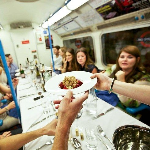 Attend a supper club, among 18 Other Things To Do Alone In London. Some really great and affordable ideas!