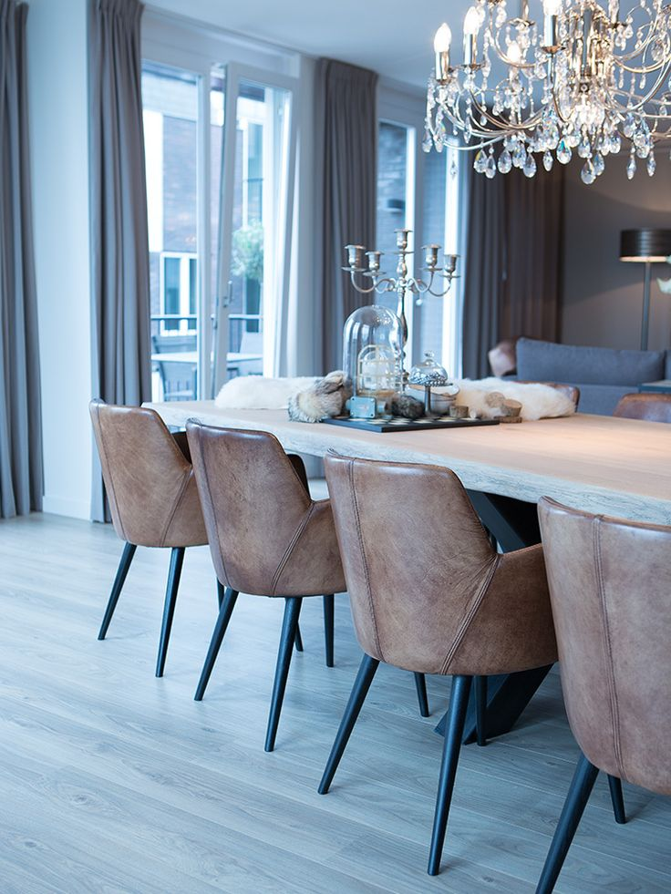 Modern chairs: leather dining chairs #diningchairs #diningroomchairs #chairdesign upholstered dining chairs, modern chairs ideas, upholstered chairs | See more at http://modernchairs.eu