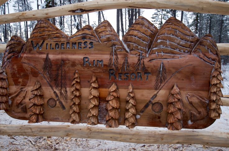 Custom Carved Western Red Cedar Entryway Sign Pioneer