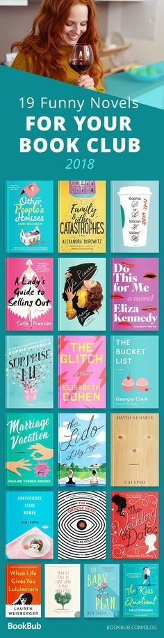 19 Laugh-Out-Loud Reads for Your Book Club