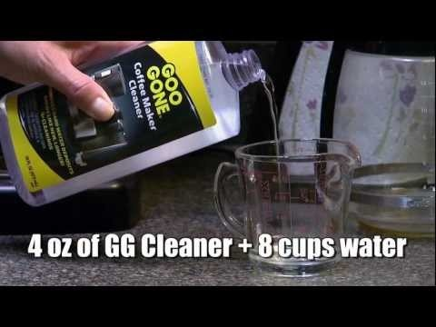 how to clean a drip coffee maker with vinegar