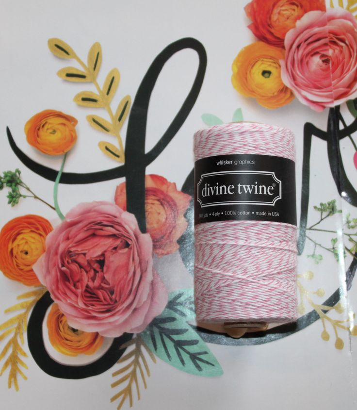 Cotton Candy Divine Twine™ Bakers Twine, Gift Wrap, Crafts