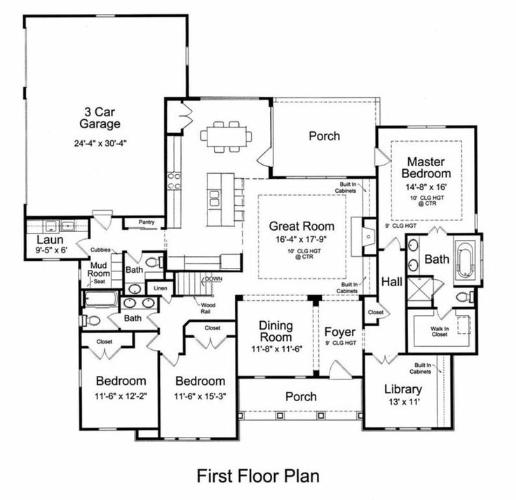 Craftsman House Plans Ranch Style: 47 Best Ranch Style House Plans Images On Pinterest
