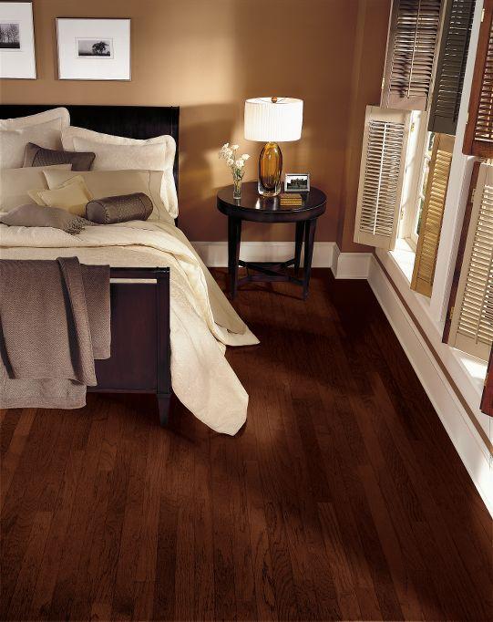 Hardwood Flooring: Hickory - Molasses  - Bruce Hardwood.
