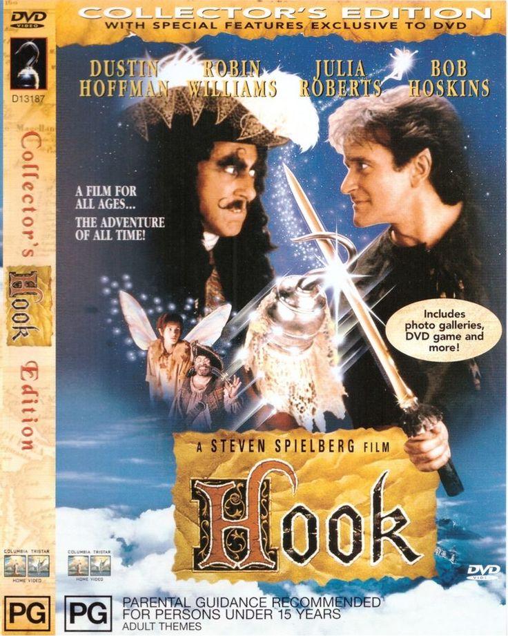 Hook DVD R4 Robin Williams, Dustin Hoffman, Julia Roberts