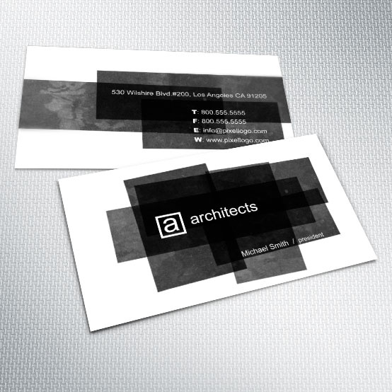 A Black and White Business Card Design. #businesscard #design $14.99