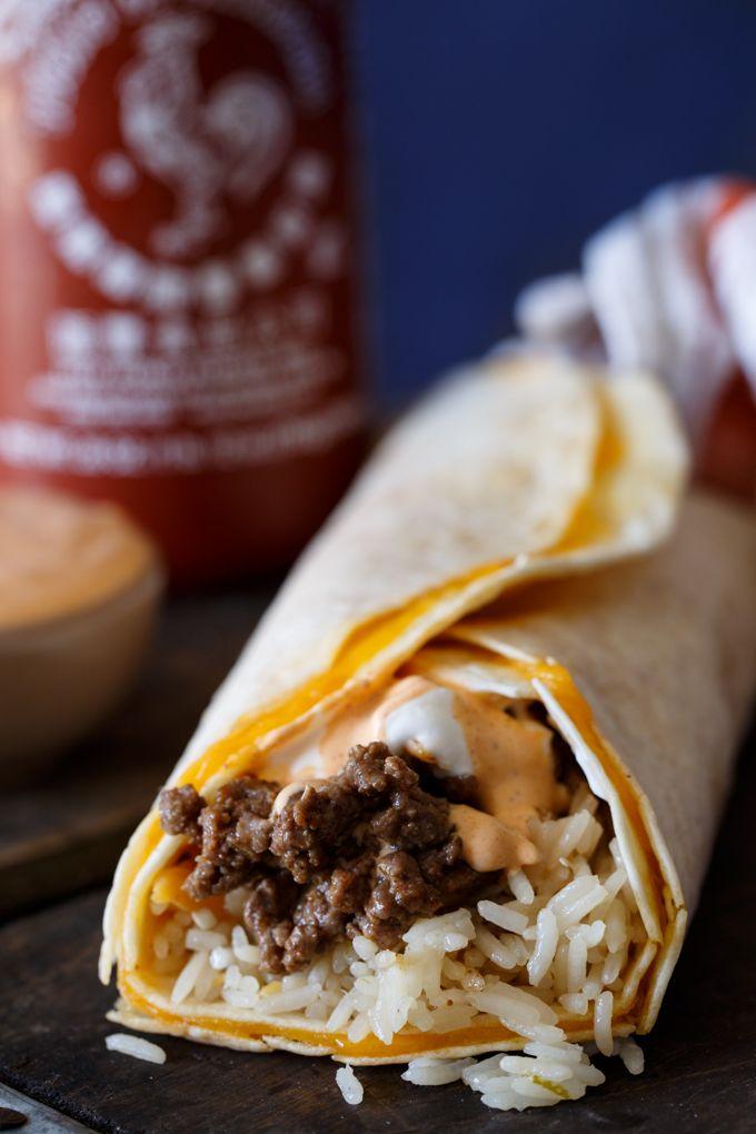 Taco Bell Sriracha Quesarito Copy Cat Recipe