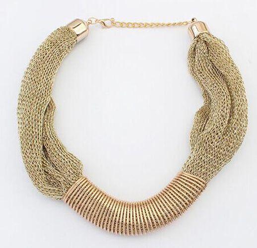 Fashion Charm Jewelry Crystal Necklace Chunky Statement Bib Pendant Choker Chain | eBay