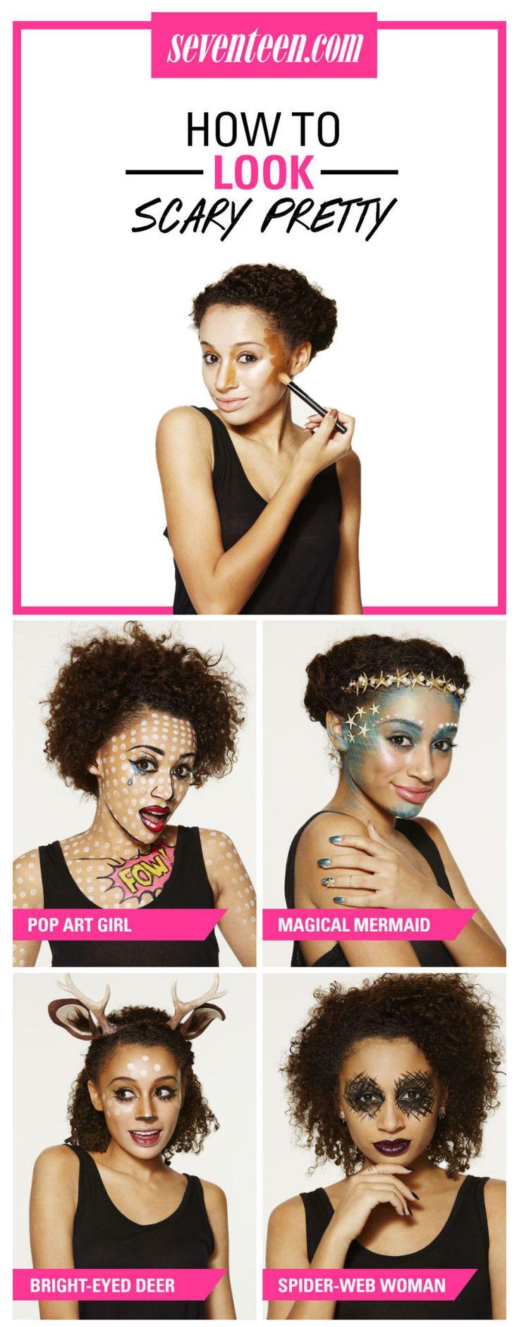 4 Scary Pretty Halloween Makeup Tutorials