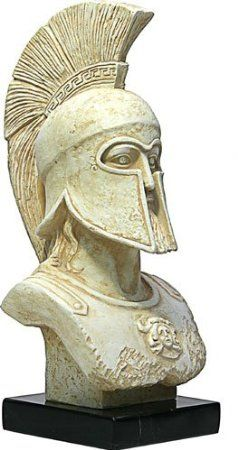 Sparta King Leonidas - Greek Statue Bust