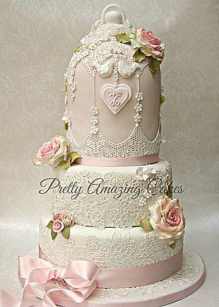 Birdcage wedding cake Bristol, Pretty Amazing Cakes, wedding and celebration cake design