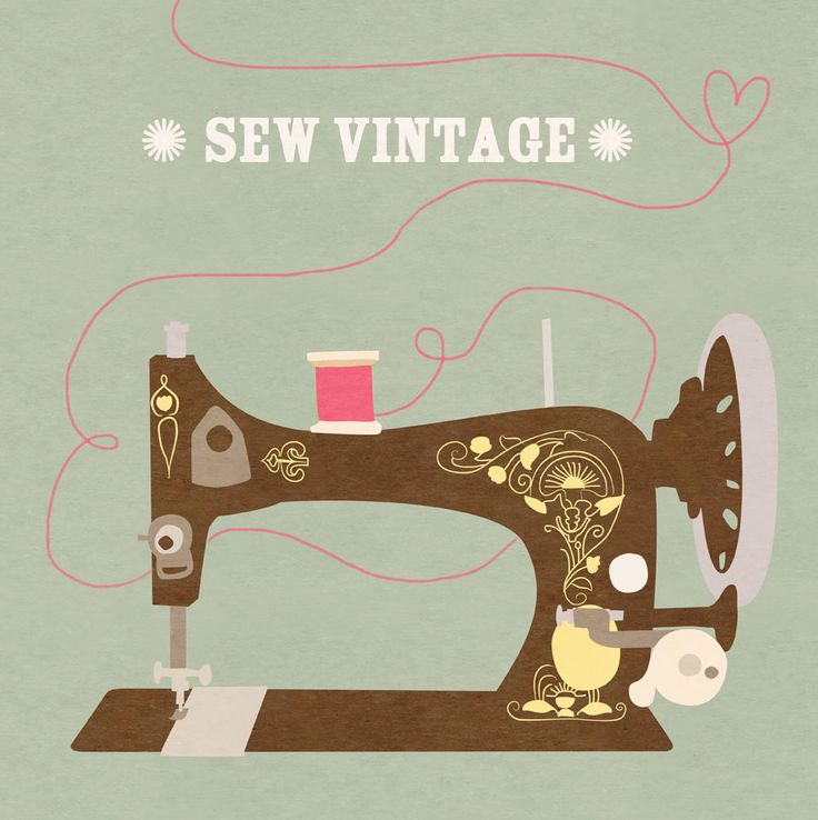 Free printable poster. I thought this would be lovely to add to a sewing space - maybe in a small frame.