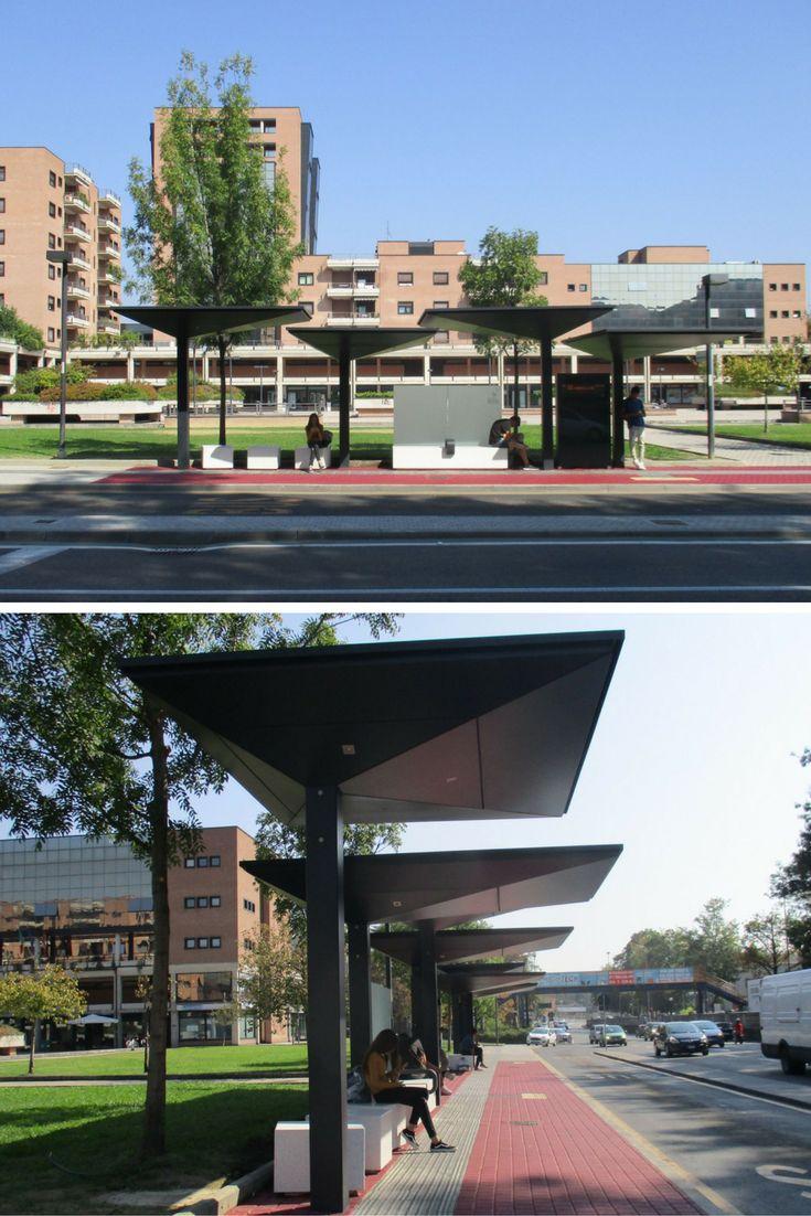 Bus Shelters By Laboratorio Architettura Architetti Ass. Rinaldi   Casarin  In Reggio Emilia, Italy