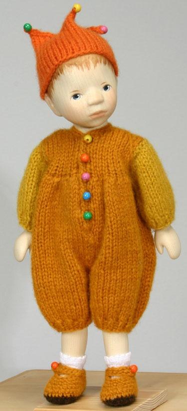 Boy In Gold Knit Suit DJ029