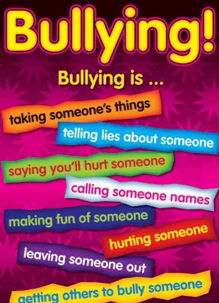 Bullying resources