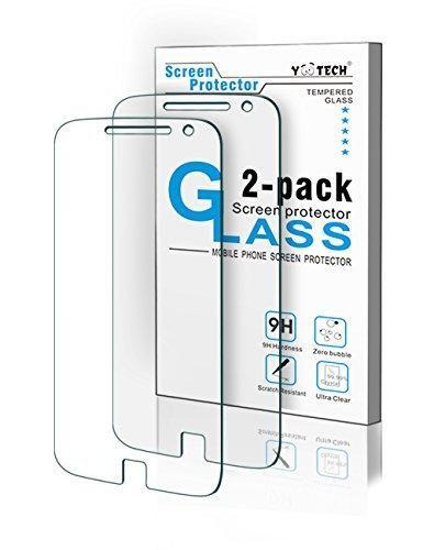 Oferta: 7.59€. Comprar Ofertas de Moto G5 más Protector de la pantalla, Yootech [Pack 2] Moto G5 más templado vidrio Protector de pantalla para Motorola Moto G barato. ¡Mira las ofertas!