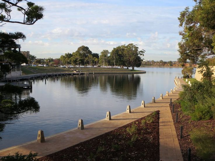 Claisebrook Cove is a quiet backwater off the Swan River in Perth, Western Australia.